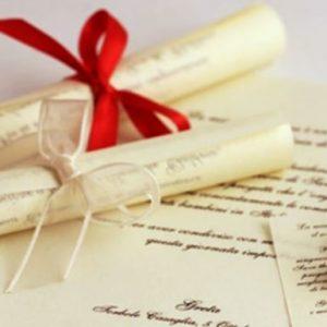 Pergamena Auguri GLH